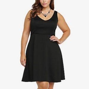 Torrid Fit & Flare Little Black Dress